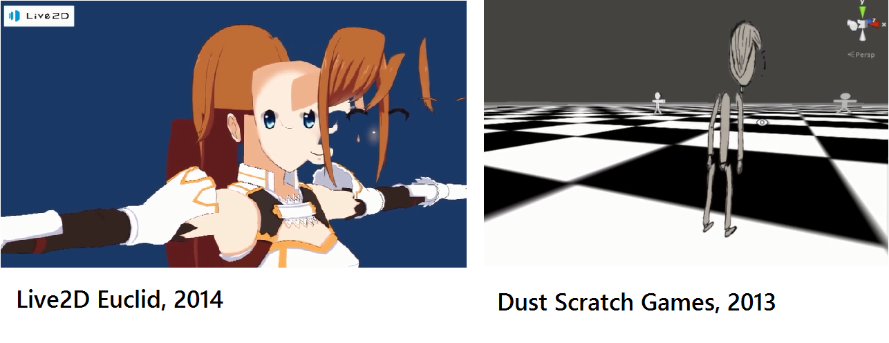 Live2D Euclid and Dust Scratch Games... pretty similar, eh?