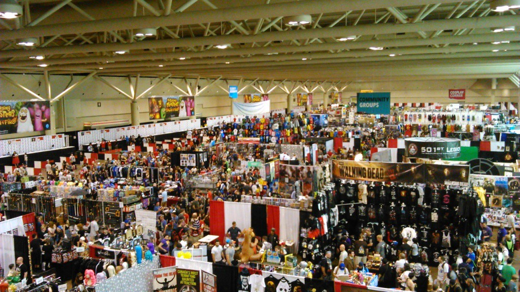 "This is about 1/4 of the ""Fan Expo"" vendors."
