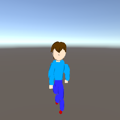 My new 2D character in 3D... may not represent final gameplay.