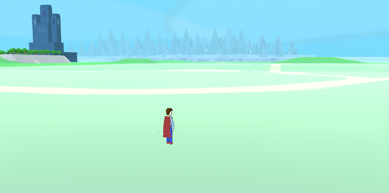 It's a little empty now, but at least you can walk!