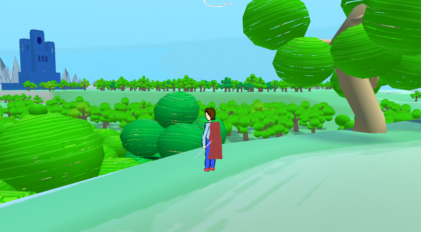 Most of the trees in this picture are only 50 polygons, and it doesn't look too bad...