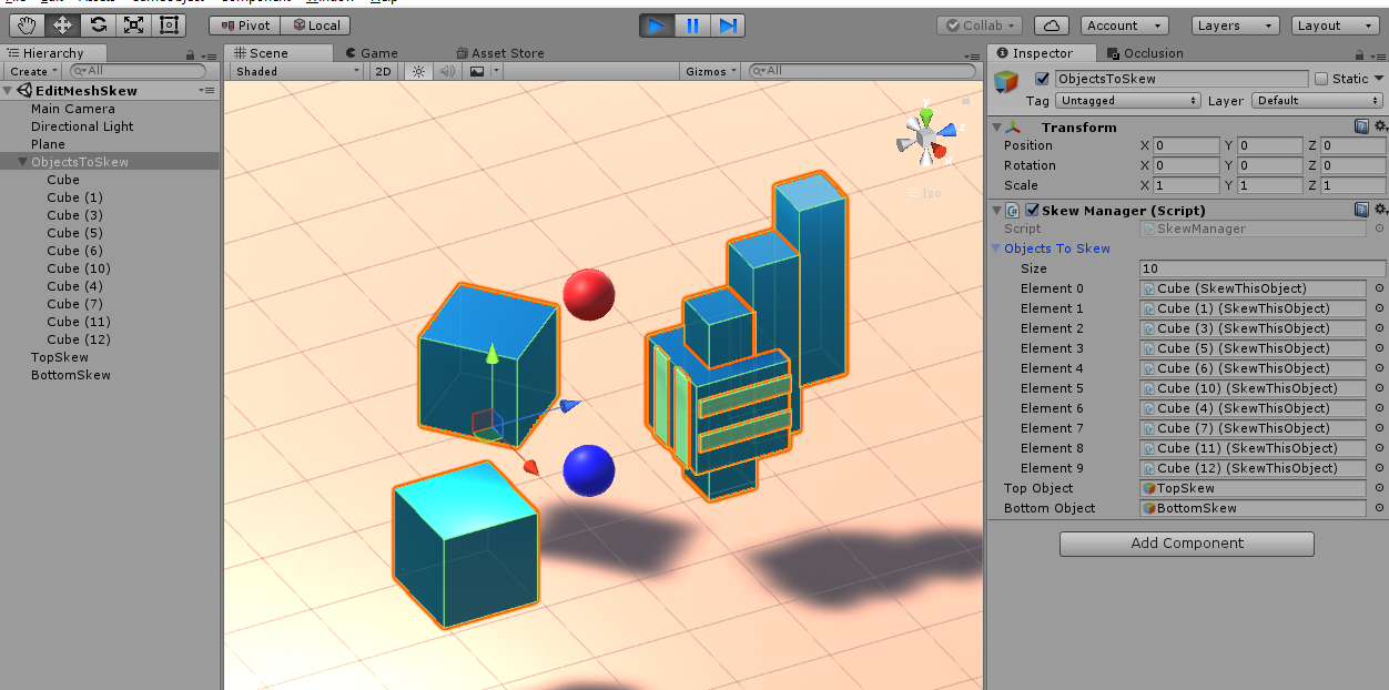 Editing 3D Meshes in Unity3D | DUST SCRATCH GAMES